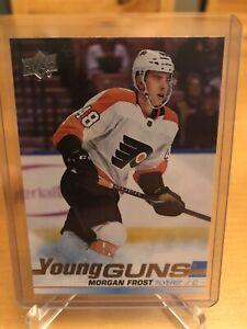 MORGAN FROST 2019-20 Young Guns Rookie RC Mint - Philadelphia Flyers