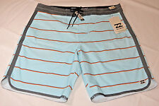 Men's Billabong Lo-Tides board shorts swim surf skate boardshorts 30 light blue