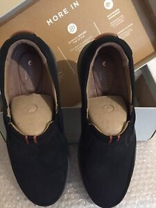 Clarks men shoes size 7 / EU 41 Black Nabuk