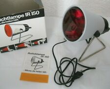 Rotlichtlampe IR 150 Philips 60er Jahre Wärme-Lampe