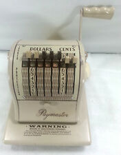 PAYMASTER SERIES S-1000 CHECK WRITER  LOCKED PROTECTION AND TWO KEYS VINTAGE