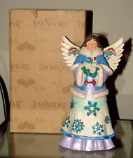 Jim Shore May Blessings Fall Upon You Snowflake Angel Christmas Figurine 4047658