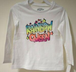 BNWT OshKosh Rainbow Queen Top Girl's Size 3T
