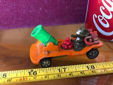 Corgi Tom & Jerry Ratón Coche Divertido Cannon Naranja Vintage Coche de juguete Diecast