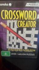 Crossword Creator PC GAME - FREE POST *