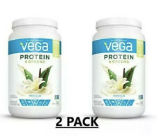 2 PACK Vega Protein & Greens Vanilla Plant Based Protein Powder