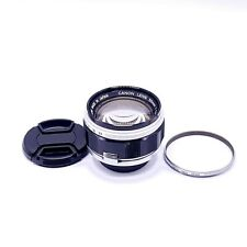 Canon 50mm f1.2 Leica 39mm LMT Screw Mount