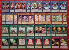 YUGIOH Cyber Angel Deck 40 Cards Vrash *Vennu* Benten [Dakini] Idaten