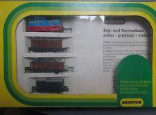 hornby minitrix n gauge diesel loco goods set 1023.