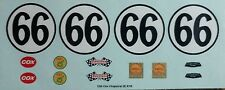 Repro 1/24 Cox Chaparral 2E RTR Waterslide Decal Set (#65 or #66 )