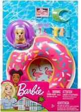 Barbie Outdoor Furniture Set with Donut Floatie- 8 Accessories
