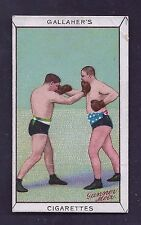 1912 Gallaher Cigarettes #35 Sports Series Boxing Good
