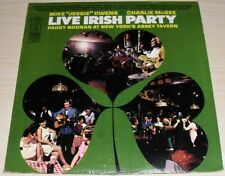 LIVE IRISH PARTY PADDY NOONAN NEW YORK'S ABBEY TAVERN ALBUM TIFTON RECORDS TS 80