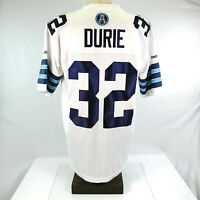 Mens Large Signed Andre Durie CFL Football Jersey Toronto Argonauts Autographed
