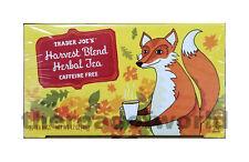 TRADER JOE'S   Caffeine Free   Harvest Blend Herbal Tea   20 Bags