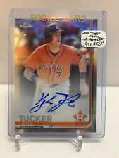 2019 Topps Chrome - Kyle Tucker RC Rookie Refractor Auto On Card 451/499 ASTROS