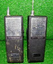 Vintage Walkie Talkie Radio Claricon Transceiver CB 15-070