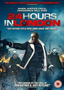 24 HOURS IN LONDON - DVD **USED LIKE NEW** FREE POST***