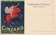 A739) TORINO, VERMOUTH CINZANO, AL  VERSO DITTA REGINA BOLOGNINI. ILL. CAPPIELLO