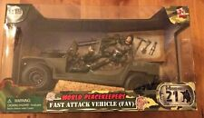 World Peacekeepers Fast Attack Vehicle FAV Off Road and Military Buggy Jeep 1:18
