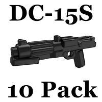 LEGO Star Wars Guns DC-15S Lot of 10 Blasters Clone Trooper Rebel Storm Weapon