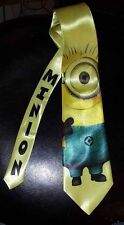 L@@K! One eyed Minion Satin Neck tie - Despicable Me