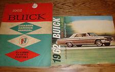 Original 1962 Buick LeSabre Invicta Electra Service Manual + Sales Brochure 62