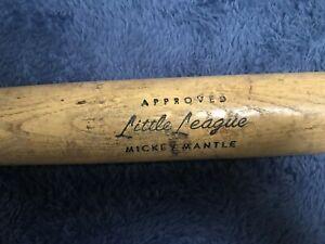 MICKEY MANTLE Little League Approved Hillerich & Bradsby 40-08 H&B Baseball Bat