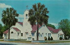 First Presbyterian Church Inverness Florida FL Postcard