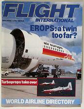 Flight International Magazine April 1/89, # 4158 vol 135 World Airline Directory
