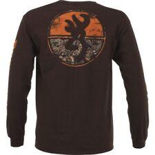 NWT Browning Mens M Long Sleeve Tee Shirt NEW w/ Realtree  Hunting Buckmark Camo