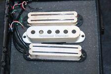 Seymour Duncan Hot Rails, Single Coil Guitar Pickup Set for Fender Stratocaster
