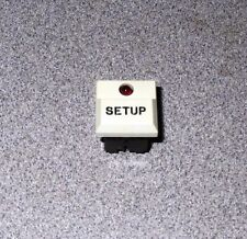 GE? 904553-01 SETUP LED Push Button Switch Schadow SE Vintage - New!