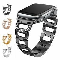 Replacement Stainless Steel Sport Band Strap For Apple Watch iWatch SE 6 5 4 3 2