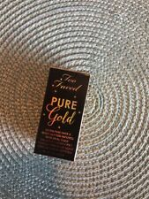 Too Faced Pure Gold Loose Glitter