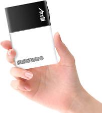 Artlii Mini Projecteur, LED videoprojecteur Portable, Pico projecteur de Poche