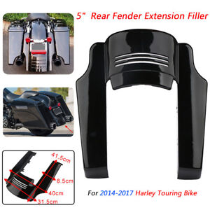 Rear Fender Extension Stretched Filler Treatment Mudguard Extension Rear for Harley