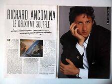 COUPURE DE PRESSE-CLIPPING : Richard ANCONINA [6pages] 06/1990 Interview,Miss...
