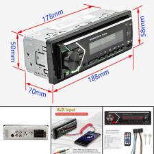 Car 12V Player Bluetooth Stereo MP3 Player GPS Retro Radio LCD USB AUX WAV FM