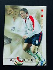 WAYNE ROONEY - 2004 Futera World Football Soccer Card Mint - Investment