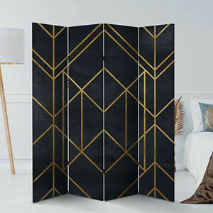 FOLDING ROOM DIVIDER WALL PARTITION PRIVACY SCREEN SPERATOR PARAVENT SCREEN