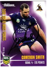 CAMERON SMITH STORM 2017 ESP NRL TRADERS PIECES OF THE PUZZLE SIGNED CARD