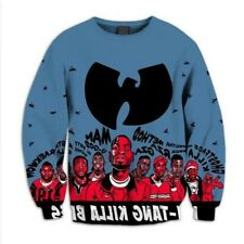 Wu Tang Clan Long/Sleeved Sweatshirt Poly Big & Tall Sz 5XL