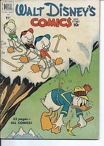 NB-001 - Walt Disney's Comics, # 128, 1951 Donald Duck Good Condition