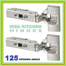 UTRUSTA HINGES IKEA  125° Kitchen Metod Cabinet   GENUINE NEW 2 PACK 602.046.45