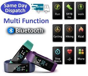 Bluetooth Fitness Tracker Activity Running Sport Smart Watch Heart Rate Fit-Bit