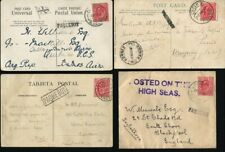 CAPE VERDE GREAT BRITAIN USED ABROAD PAQUEBOT SHIPPING 1906/08 EDWARD 7th