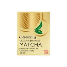 Clearspring Organic Ceremonial Matcha Tea (Tin) 30g