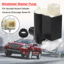 2 Oulet Windscreen Washer Pump Fit For Kia Sedona Sportage Hyundai Accent Tucson