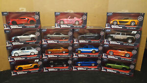 JADA 1/32 Fast and the Furious Lot of 15 NEW